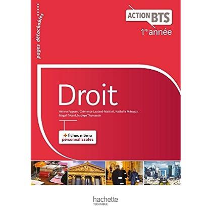 Action BTS Droit BTS 1re année - Livre élève - Ed. 2017