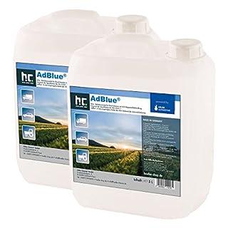 AdBlue® 4 x 5 L - Auto Harnstofflösung von Kruse Automotive verringert Emissionen von Stickstoffoxiden um 90% bei SCR-Systemen - Höfer Chemie