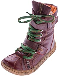 Bottines d'hiver pour femme en cuir tMA cheville doublé chaussures noir/vert/blanc/rouge/jaune-bottes-uni vieilli