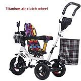 Children's bike Titan Wheels Trolley, Baby-Kinderwagen, Fahrrad, Kinder Dreirad, Kinderfahrrad (Farbe : # 3)