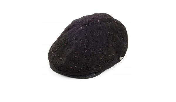 New Era EK Gatsby Newsboy Cap - Black Black XLarge - 60cm  Amazon.co.uk   Clothing dbe83806f1c8