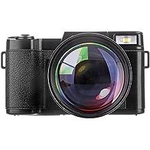 PYRUS Cámara digital HD 22 MP de 3,0 pulgadas con zoom digital y visión nocturna