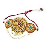 #2: Sukkhi Amazing Gold Plated Bajuband For Women