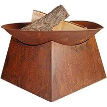 Esschert Design Feuerschale Rost, braun, 56.5x56.5x33 cm, FF149