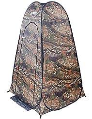 MOMAMO Tienda Ducha Camping, Pop Up Toilet Tent Al Aire Libre PortáTil Changing Room Ducha
