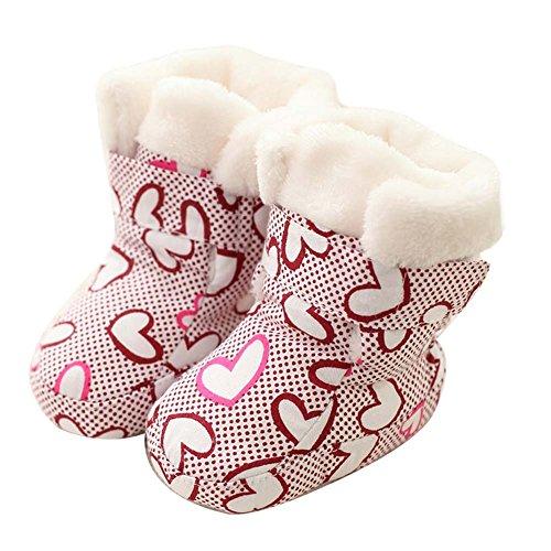 Chaussures enfant Semelles souples en caoutchouc Sole Crib Shoes Chaussures bébé Chaussures bébés