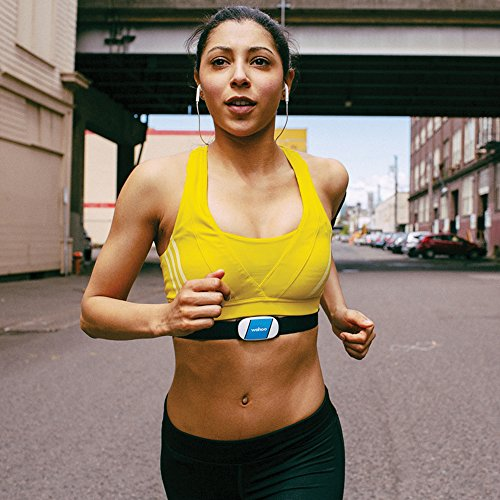 51qC0dr6rUL. SS500  - Wahoo TICKR Heart Rate Monitor, Bluetooth / ANT+