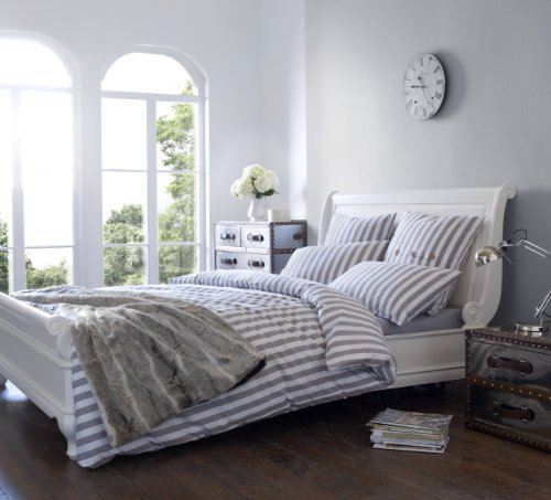 Riva Paoletti Limoges Taupe Bed Runners 60 cm x 220 cm Polyester Full
