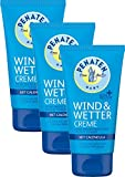 Penaten Kleine Helfer Wind & Wetter Creme 75ml – Reichhaltige Creme mit Calendula für sensible Babyhaut (3 x 75ml)