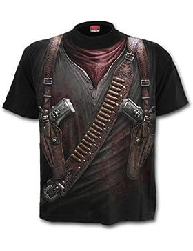 Spiral Holster Wrap T-Shirt schwarz
