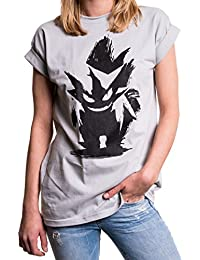 Nerd Geschenke für Gamer - Poke T-Shirt Oversize Longshirt Übergröße weit locker geschnitten