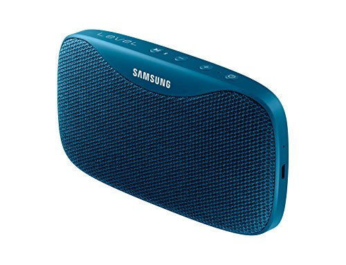 Samsung Level Box Slim (Blue) Water Resistant Pocket Sized Bluetooth Speaker With Superb Sound