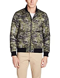 Lee Mens Synthetic Jacket (8907222741532_L18835MBCZ2200L_Large_Green)