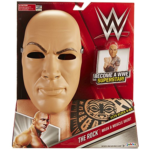 WWE 2217 Wrestling-Star The Rock Kostüm, One Size