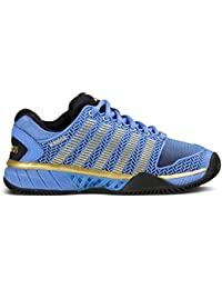 K-Swiss Hypercourt Express HB 50º Aniversario De La Mujer Tenis Zapatos, color azul, tamaño 38 EU