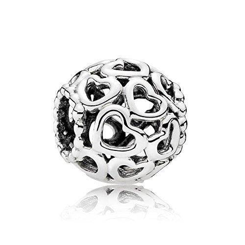 Open Your Heart Charm de plata de ley 925 colgantes Pandora, pulseras...