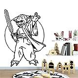 BailongXiao Moderne wandkunst Aufkleber wandkunst Aufkleber wandbild kinderzimmer Wohnzimmer Dekoration Hintergrund wandkunst Aufkleber 42 cm X 57 cm