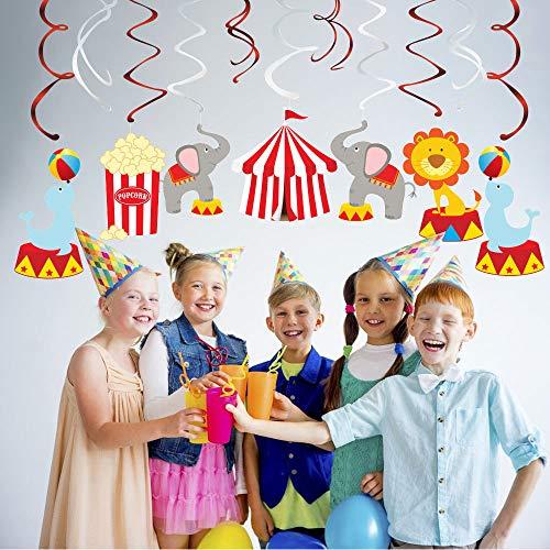 irl Dekorationen - Zirkus Geburtstag Dekorationen, Decken Streamer ()