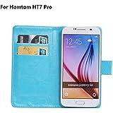 Frlife  Funda de Rotación y Choque para Doogee Homtom HT7 Pro Smartphone(5.5 Estatura)