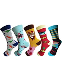 RC. ROYAL CLASS Full Length soft cotton designer socks for kids Boys & Girls (pack of 5 pairs)