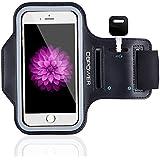 DBPOWER Armband de Téléphone Brassard de Sport Anti-Sueur pour iPhone 6 Plus/Galaxy S6/Huawei P8/Honor