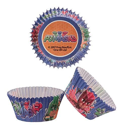 Generique - 50 Cupcake Förmchen PJ Masks