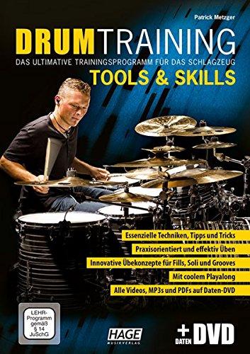 Drum Training Tools & Skills (mit Daten-DVD): Das ultimative Trainingsprogramm für das Schlagzeug Das Kleine Buch Der Video-spiele