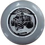 WHAM-O FRISBEE Wurfscheibe Heavyweight 200g Grau