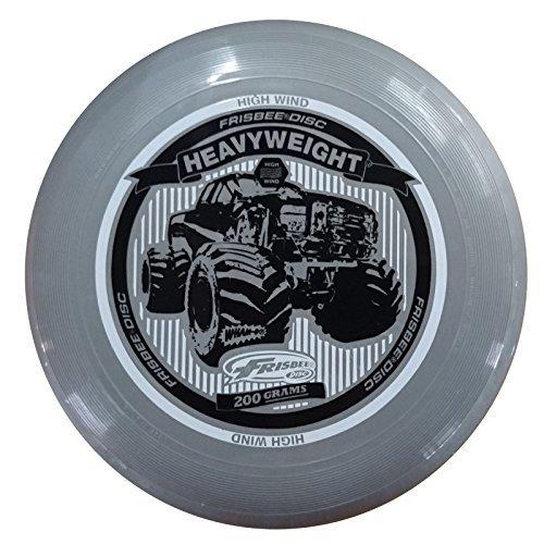 Preisvergleich Produktbild WHAM-O FRISBEE Wurfscheibe Heavyweight 200g Grau
