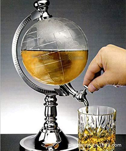 New Globe Shaped Design Cooling Bierspender, Mini-Bierspender Ausgießer, Liquid Drink Dispenser, ideales Geschenk für Bier- / Wein- / Getränkeliebhaber -