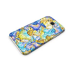 Cover Affair Floral/Flowers Printed Designer Slim Light Weight Back Cover Case for Samsung Galaxy J5 2015 Edition