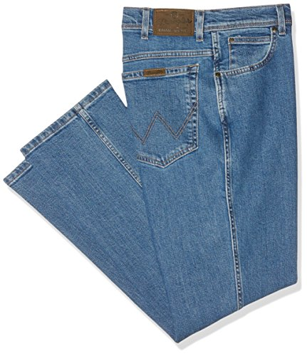 Wrangler Herren Regular Fit\' Jeans, Blau (Stonewash), 35W / 30L