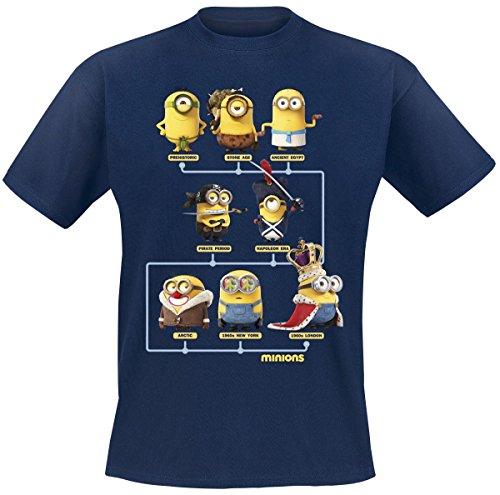 Camiseta de los Minions de algodón