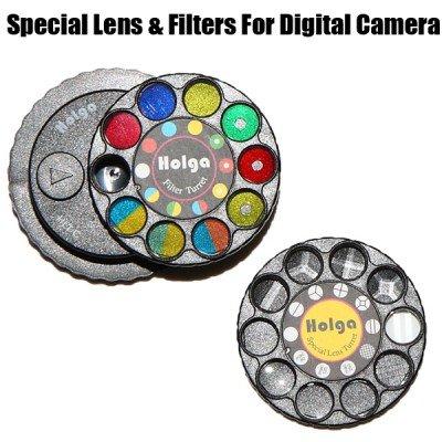 Holga Lens with Special Lens and Filter Turret for Nikon DSLR Camera
