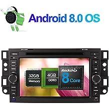 7 pulgadas Android 8.0 Octa Core Radio estéreo para automóvil con reproductor de CD y DVD