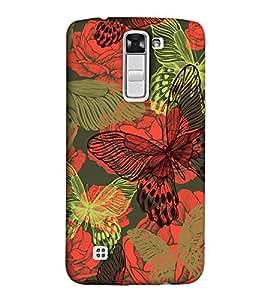 EagleHawk Designer 3D Printed Back Cover for LG K10 - D933 :: Perfect Fit Designer Hard Case