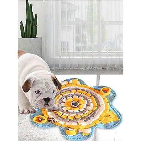 cuffslee Schnüffelteppich Hund Futterspielzeug Hund Multifunktional Schnüffelteppich Für Hunde Mit Anti-Rutsch-Boden