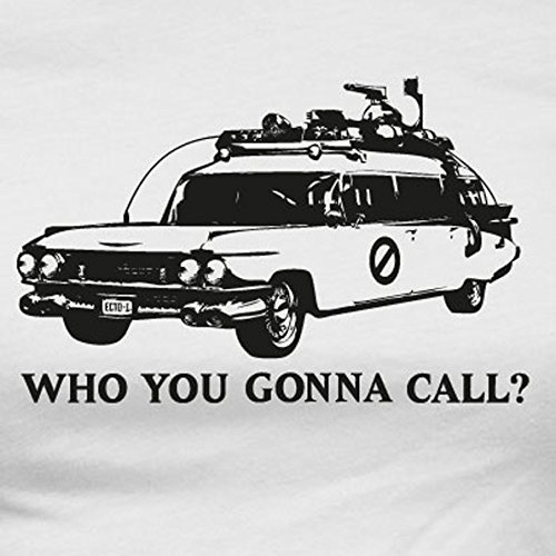 TEXLAB - Who you gonna call? - Langarm T-Shirt Weiß