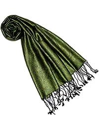 d53a23306b4724 Lorenzo Cana Luxus Seidenschal für Frauen Schal 100% Seide gewebt  Damenschal elegant Paisley…
