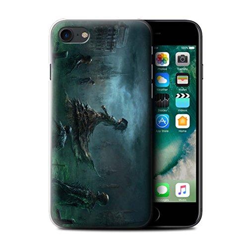 Offiziell Chris Cold Hülle / Case für Apple iPhone 7 / Banshee/Hexe-Königin Muster / Unterwelt Kollektion Banshee/Hexe-Königin
