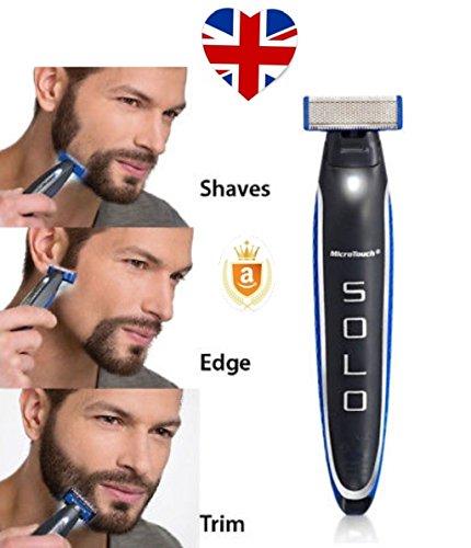 Rasoio elettrico ricaricabile microtouch Solo per regolare linee della barba