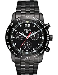 Black Stainless Steel Classic Chronograph