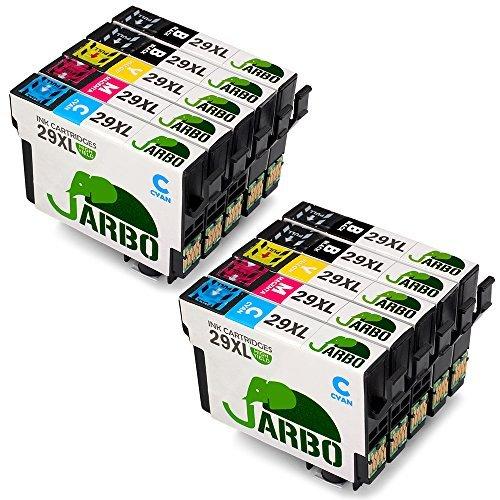 JARBO Ersetzt für Epson 29XL 29 Druckerpatronen (4 Schwarz,2 Blau,2 Rot,2 Gelb) hoher Reichweite für Epson XP-445 XP-442 XP-355 XP-352 XP-345 XP-342 XP-247 XP-245 XP-235 XP-257 XP-255 XP-452 XP-432 -