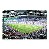 Vliestapete–Fußball Stadion–Wandbild breit