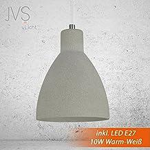 Beton Lampe Leuchte LED E27 Pendel Hnge LONDON