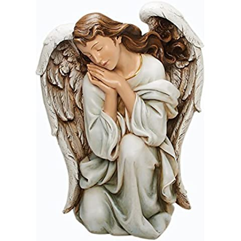 Joseph's Studio by Roman A Kneeling Angel Figurine, 22.5 by 17.75-Inch by Roman,Inc