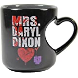 The Walking Dead Mrs. Daryl Dixon 12 oz Heart Mug by Rabbit Tanaka