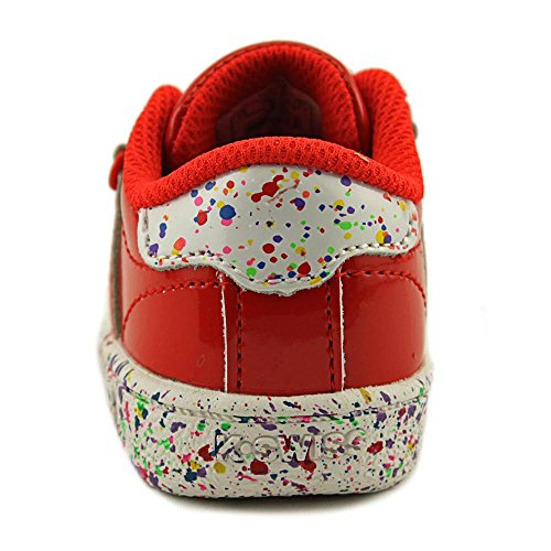 K-Swiss Classic VN Cuir verni Baskets Fiery Red Sprinkles