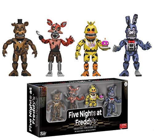 Five-Nights-at-Freddys-Set-2-Nightmare-Edition-Four-Pack-Action-Figuras