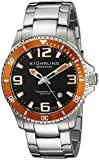 Stuhrling Original Aquadiver Analog Black Dial Men's Watch - 395.33I117 best price on Amazon @ Rs. 4739